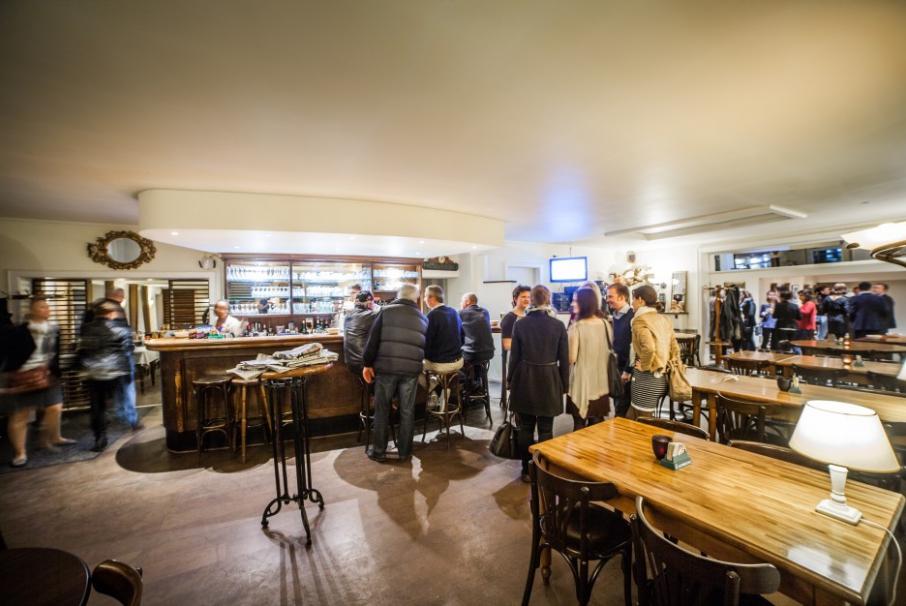 Brasserie Kirchberg - Vue de l'intérieur